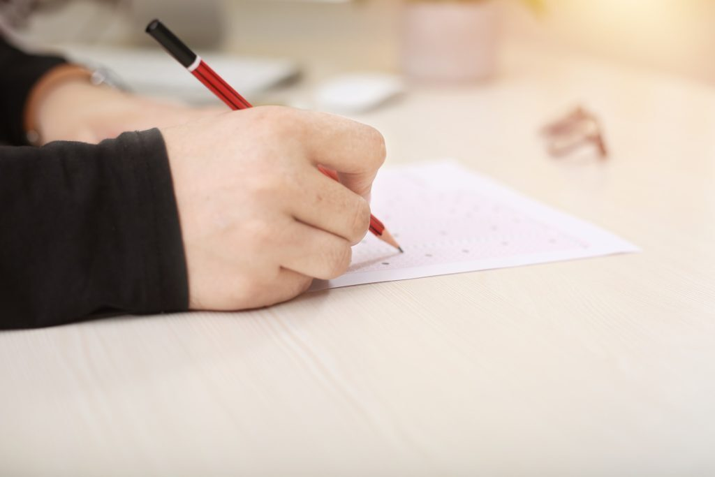Písemný test