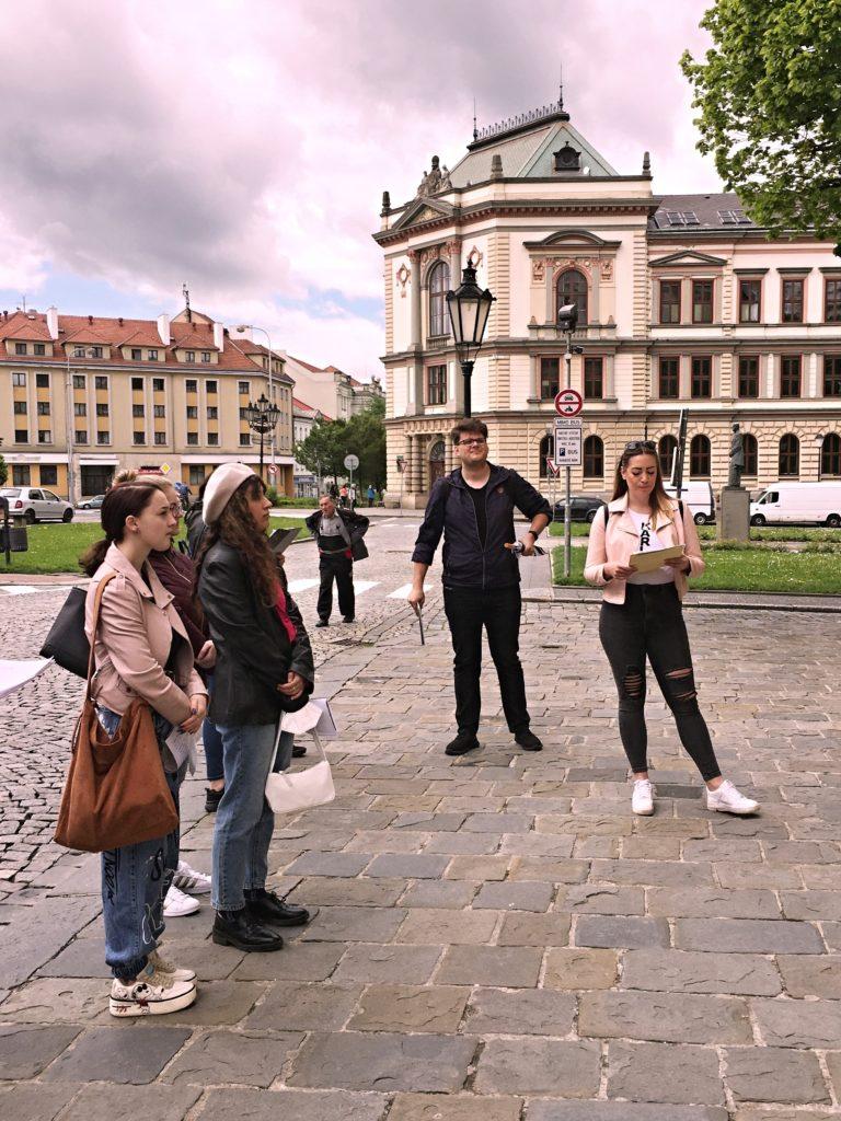 Studenti 3. CR Kroměříž - průvodcovství
